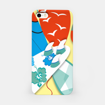 Miniatur Surf boards iPhone Case, Live Heroes