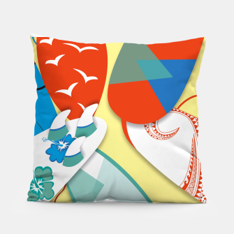 Miniature de image de Surf boards Pillow, Live Heroes