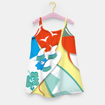 Miniature de image de Surf boards Girl's Dress, Live Heroes