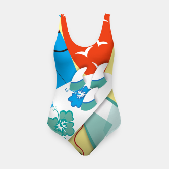 Miniatur Surf boards Swimsuit, Live Heroes