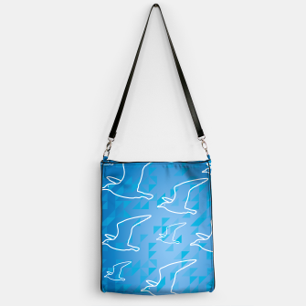 Thumbnail image of Line Drawing Seagulls  Handbag, Live Heroes