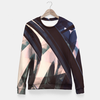 Miniatur Shach Fitted Waist Sweater, Live Heroes