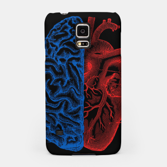 Thumbnail image of Heart and Brain Samsung Case, Live Heroes