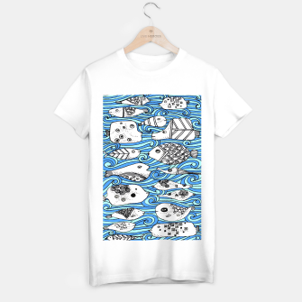 Miniatur Fishy friends T-shirt regular, Live Heroes