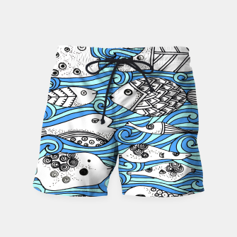 Miniatur Fishy friends Swim Shorts, Live Heroes