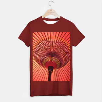 Miniatur red umbrella T-shirt regular, Live Heroes