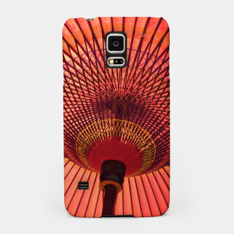 Thumbnail image of red umbrella Samsung Case, Live Heroes
