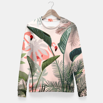 Miniatur Looking for Paradise Fitted Waist Sweater, Live Heroes