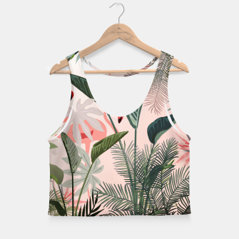 Miniatur Looking for Paradise Crop Top, Live Heroes
