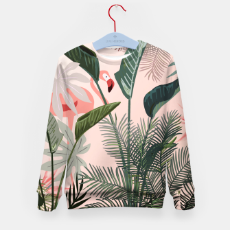 Miniatur Looking for Paradise Kid's Sweater, Live Heroes