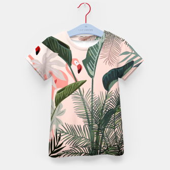Miniatur Looking for Paradise Kid's T-shirt, Live Heroes