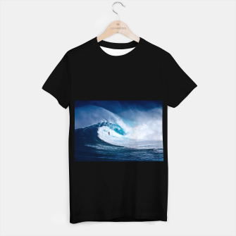 Miniatur surfing T-shirt regular, Live Heroes