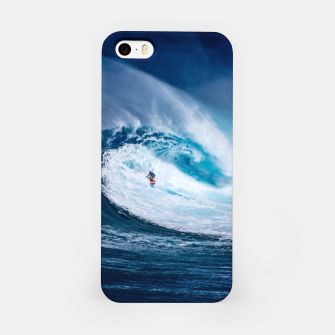 Miniatur surfing iPhone Case, Live Heroes