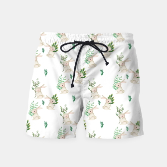 Miniatur Playful Rabbits Swim Shorts, Live Heroes