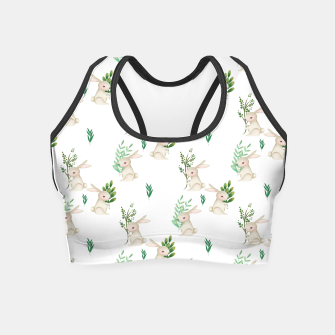 Miniaturka Playful Rabbits Crop Top, Live Heroes