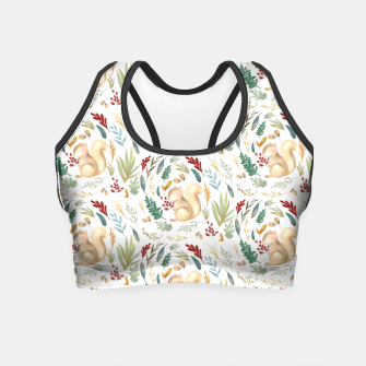 Thumbnail image of Woodland Squirrels  Crop Top, Live Heroes