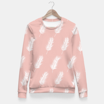 Miniatur Tropical pattern 001 Fitted Waist Sweater, Live Heroes