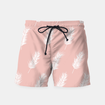 Miniatur Tropical pattern 001 Swim Shorts, Live Heroes