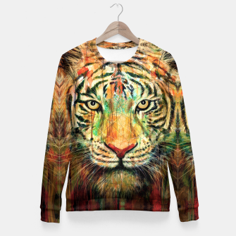 Miniatur Tiger Fitted Waist Sweater, Live Heroes