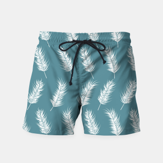 Miniatur Tropical pattern 002 Swim Shorts, Live Heroes