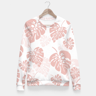 Miniatur Tropical pattern 003 Fitted Waist Sweater, Live Heroes