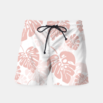 Miniatur Tropical pattern 003 Swim Shorts, Live Heroes