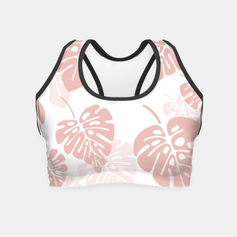 Thumbnail image of Tropical pattern 003 Crop Top, Live Heroes