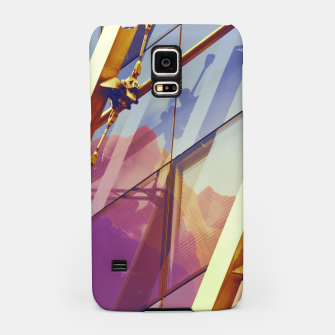 Thumbnail image of Facade in front of the mountains 2 Samsung Case, Live Heroes