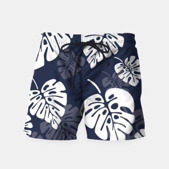 Miniatur Tropical pattern 004 Swim Shorts, Live Heroes