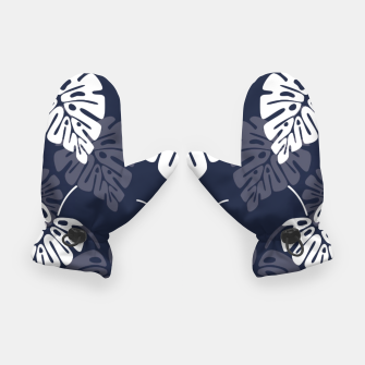 Miniatur Tropical pattern 004 Gloves, Live Heroes