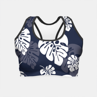 Thumbnail image of Tropical pattern 004 Crop Top, Live Heroes