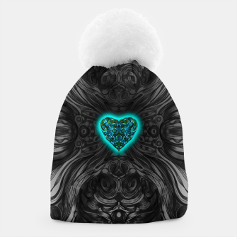 Thumbnail image of Blue Heart Beanie, Live Heroes