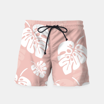 Miniatur Tropical pattern 005 Swim Shorts, Live Heroes