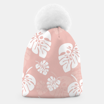 Thumbnail image of Tropical pattern 005 Beanie, Live Heroes