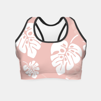 Thumbnail image of Tropical pattern 005 Crop Top, Live Heroes