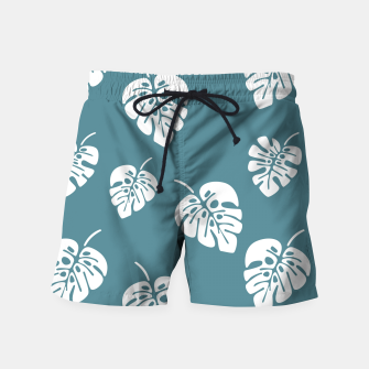 Miniatur Tropical pattern 006 Swim Shorts, Live Heroes