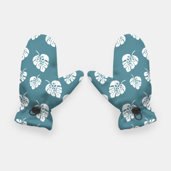 Miniatur Tropical pattern 006 Gloves, Live Heroes
