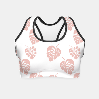 Miniaturka Tropical pattern 007 Crop Top, Live Heroes
