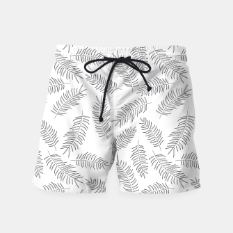 Miniatur Tropical pattern 008 Swim Shorts, Live Heroes