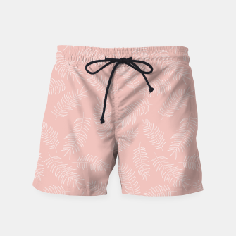 Miniatur Tropical pattern 009 Swim Shorts, Live Heroes