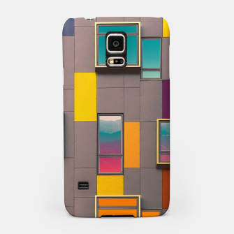 Thumbnail image of Facade in front of the mountains Samsung Case, Live Heroes