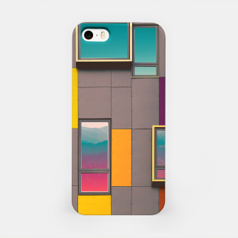 Miniatur Facade in front of the mountains iPhone Case, Live Heroes