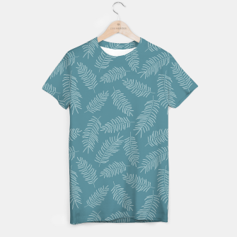 Miniatur Tropical pattern 010 T-shirt, Live Heroes