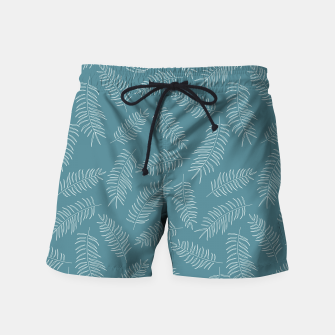 Miniatur Tropical pattern 010 Swim Shorts, Live Heroes