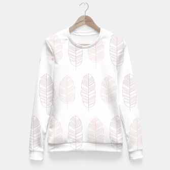 Miniatur Tropical pattern 011 Fitted Waist Sweater, Live Heroes