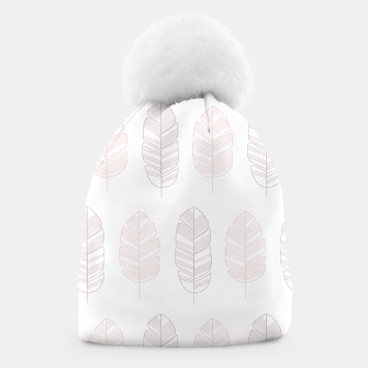 Thumbnail image of Tropical pattern 011 Beanie, Live Heroes