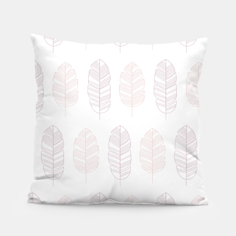 Miniatur Tropical pattern 011 Pillow, Live Heroes