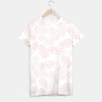 Miniatur Tropical pattern 012 T-shirt, Live Heroes