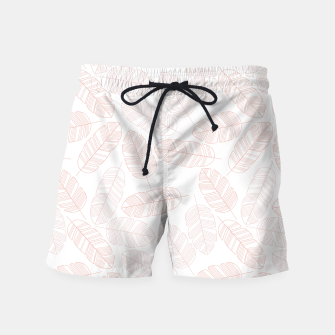 Miniatur Tropical pattern 012 Swim Shorts, Live Heroes