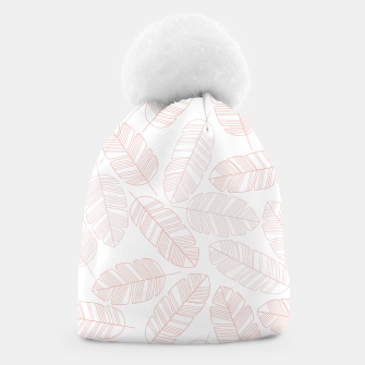 Thumbnail image of Tropical pattern 012 Beanie, Live Heroes